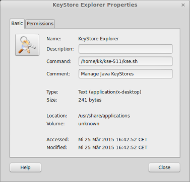KeyStore Explorer - Release Notes
